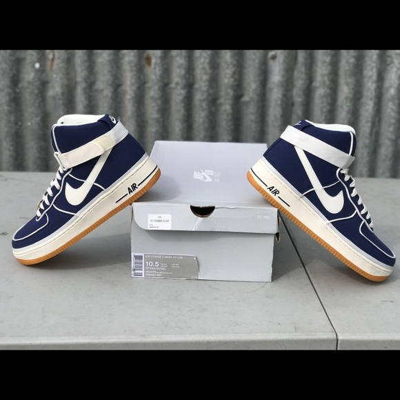 Nike Shoes Air Force 1 High 07 Lv8 Binary Blue Poshmark